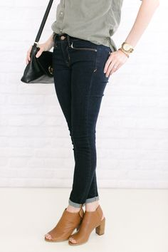 denim and ankle boots #ankleboots #denim #style #fashion