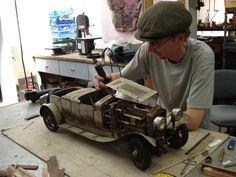 Rusty car model