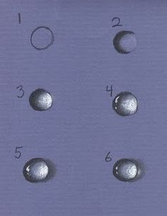 how to draw a Water droplet