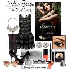 Great Gatsby fashion inspiration - Jordan Baker #flapper #1920s