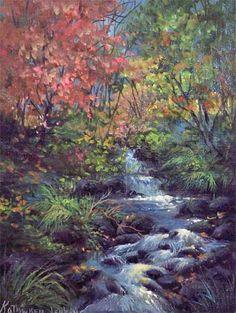 Gary and kathwren jenkins on pinterest oil paintings art studios