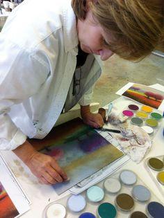 PanPastel Painting