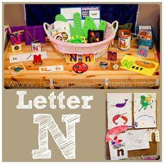 Home #Preschool Letter N