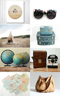 In honor of the epic, month-long road trip we're taking tomorrow....  #Etsy #fpoe #wanderlust