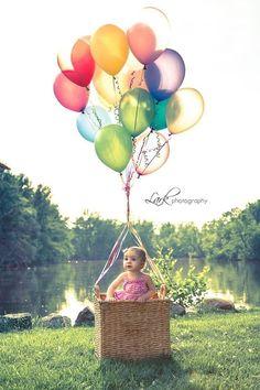 Children's photography.  Great idea to photograph WILD CHILD dolls