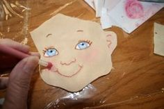 This Making Faces Applique Tutorial will teach you how to create an applique that looks like a child's smiling face.