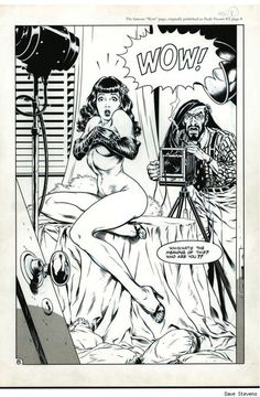 Betty Page - The Rocketeer