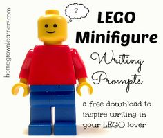 Here's a set of printable LEGO writing prompts that's sure to inspire!