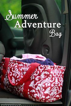 Summer Adventure Bag Checklist