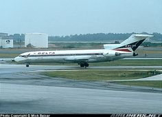 A Delta 727 - worked on several of these, when I first worked at Boeing
