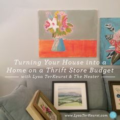 Turning Your House into a Home on a Thrift Store Budget: Day 1 by @lysaterkeurst #diy