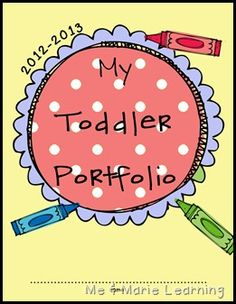 Toddler Portfolios