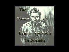 The Power of Being Apostolic - Lee Stoneking - YouTube