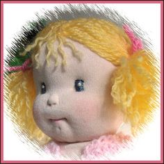 Cloth Cotton Knit SoftSculptured 11 Baby Doll  by maryholstad,