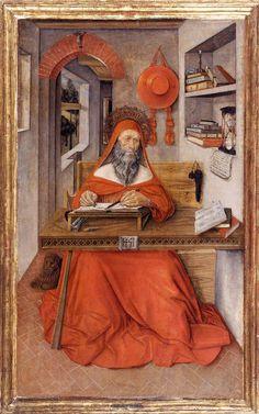Antonio Da Fabriano St Jerome in His Study