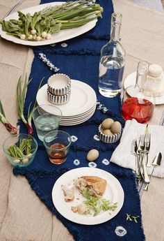 Get the First Look at Anthropologie's Newest Collaboration // Lost  Found, Indigo
