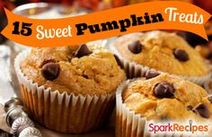 Hail #pumpkin!! So psyched to try these 15 #recipes this #fall! | via @SparkPeople #healthy #healthyliving #healthyfall