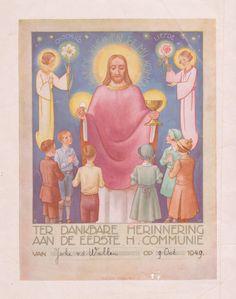 Someren 9-10-1949 eerste H. Communie