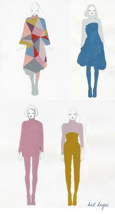 pencil, silhouett, abstract sketch, fashion sketches, paint
