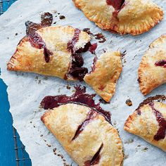 Roasted Cherry Hand Pies | SouthernLiving.com