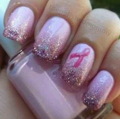 cancer nails | Breast cancer nails | Clothes