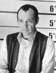 """Kevin Spacey (in """"The Usual Suspects"""") Has to be one of my all time favorite actors"""