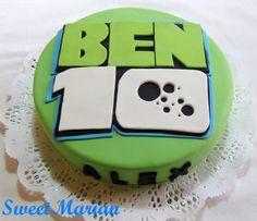 "Torta de ""Ben 10"" para Alex https://www.facebook.com/SweetMarianCupcakes"