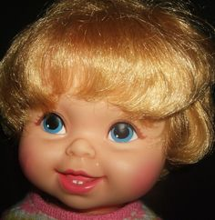 Tippee Toes doll from 1960's.