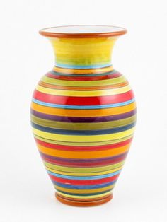 Deruta italian ceramic decoration - Vase
