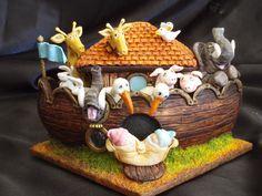 ark front by Torki's Sugar Art, via Flickr