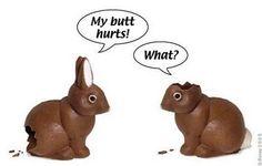 Easter Bunny Joke Cartoon
