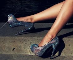 sparkling shoes <3