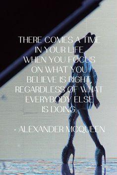 alexander mcqueen quotes | Alexander McQueen's quote - Paperblog
