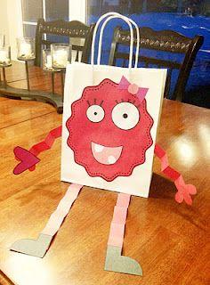 Valentine Monster Bag