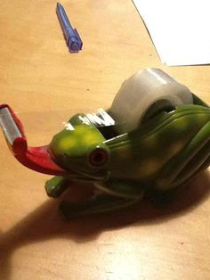 """I fixed this tape dispenser after is got broken in two"""