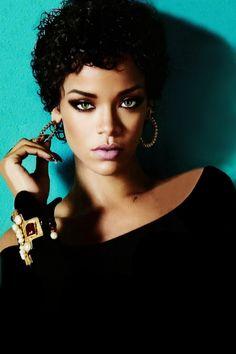 Rihanna is blue.