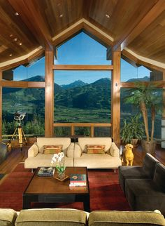 great windows and view