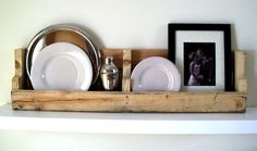 Pallet shelf tutorial