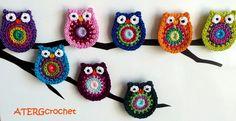 Owl crochet pattern by ATERG.crochet