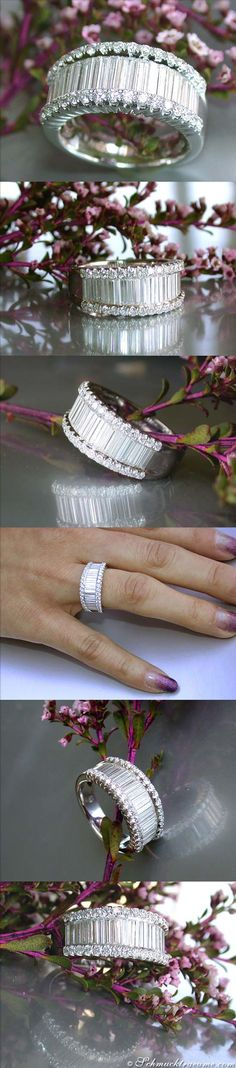 Glamorous Diamond Ring, 1,73 cts. g-vvsi/vsi WG18K - Visit: schmucktraeume.com - Like: https://www.facebook.com/pages/Noble-Juwelen/150871984924926 - Contact: info[at]schmucktraeume.com