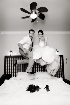 Remember to pack camera so we can set timer and take a pic like this in the hotel!