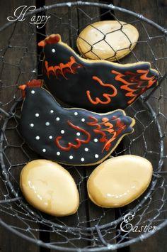 Hen cookies