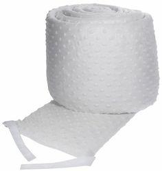Carter's Super Soft Bumper-White