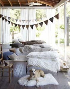 Porch Sleep-Over.
