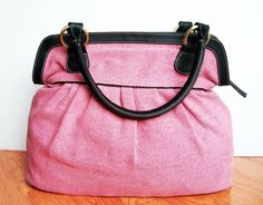 Pink Color Handbag