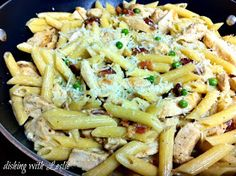 Dishing With Leslie: Chicken Bacon Penne