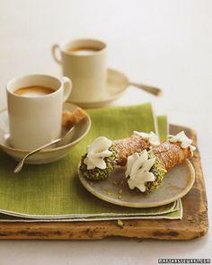 Classic Cannoli Recipe | Cooking | How To | Martha Stewart Recipes