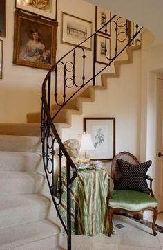 stairway art gallery