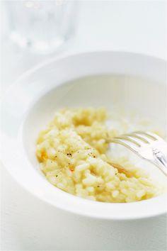 // preserved lemon and saffron risotto