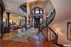 Beautiful entryway and front door!